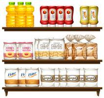 Prodotto alimentare sullo scaffale