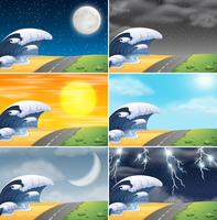 Set di scena costiera