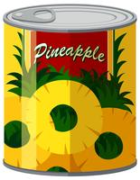 Pineapple in aluminum can