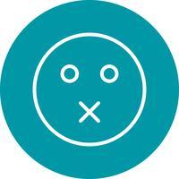 Silencio Emoji Vector Icon