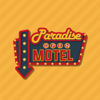 Retro Sign Vector