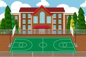 Tom skolesport lekplats