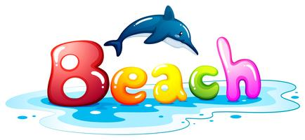 Summer escapade at the beach vector