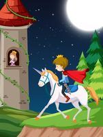 Prince of horse scene