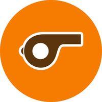 Whistle Vector Icon