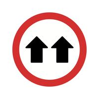 Vector Give Way IconVector Give Way Icon