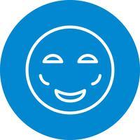 Arrossire Emoji Vector Icon