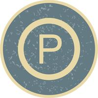 Vector Parking Icon
