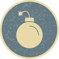 Icono de vector de explosión