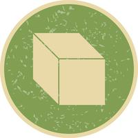 Würfel-Vektor-Symbol