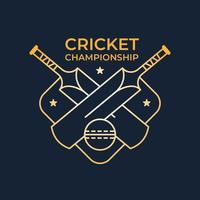 Logo del campeonato de cricket