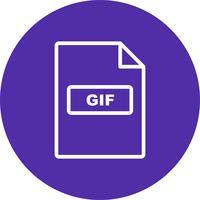 GIF Vector Icon