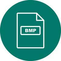 Ícone de vetor BMP
