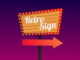 Awesome Retro Sign