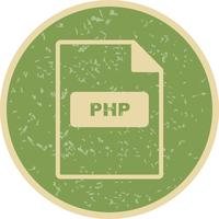 PHP Vector-pictogram