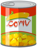 Sweet corn in can