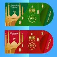 illustratie van ramadan verkoop