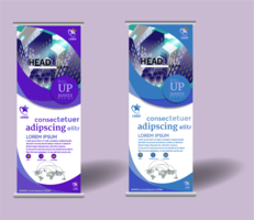 ROLL UP BANNER MODELO DESIGN