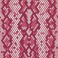 Snakeskin seamless pattern. Realistic texture of snake or another reptile skin. Pink purple colors. Vector illustartion