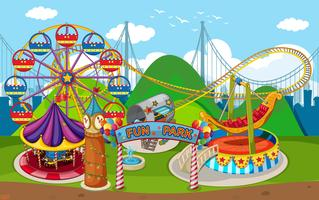 Une carte de Fun Park