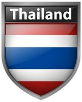 Icon design for Thailand flag