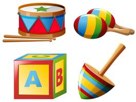 Musical instruments and toys