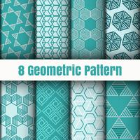 Geometric vector pattern wallpaper background surface textures