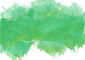 Colorful hand painted watercolor background. Green  watercolor brush strokes. Abstract watercolor texture and background for design. Watercolor background on textured paper. vector