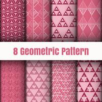Textures de surface fond d'écran motif géométrique vecteur