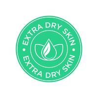 Icono de piel extra seca.