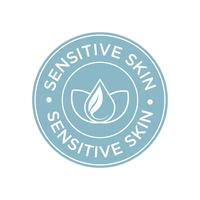 Sensitive skin icon.
