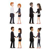 Menschen Charaktere