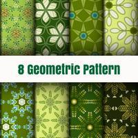 Strutture della superficie del fondo della carta da parati del modello di vettore geometrico