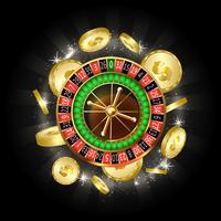 Concepto de vector de casino