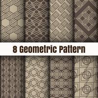 Geometrische Vektormustertapetenhintergrund-Oberflächenbeschaffenheiten