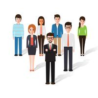 People character vector