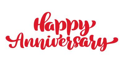 Happy Anniversary. Greeting card