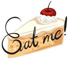 Gâteau crémeux