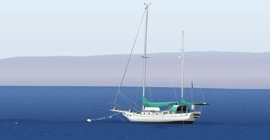 Um barco