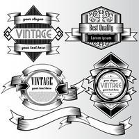Vintage bakgrundsväggen stil designmall