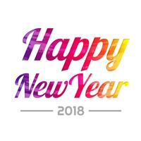 Feliz ano novo fundo de fundo Vector