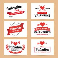 Valentine template banner Vector background for banner