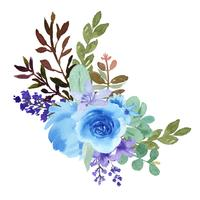 Watercolor bouquets florals hand painted lush flowers llustration  vintage style aquarelle isolated on white background. Design decor for card, save the date, wedding invitation cards, poster, banner