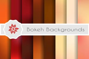 Bokeh backgrounds set of decorative backdrops for