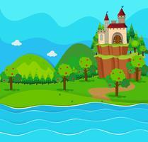 Château tours de la rivière