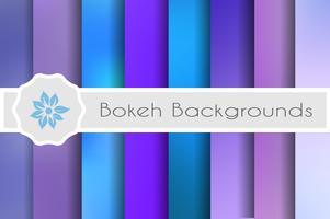 Bokeh backgrounds set de décors décoratifs pour