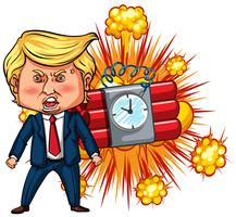 President Trump and time bomb