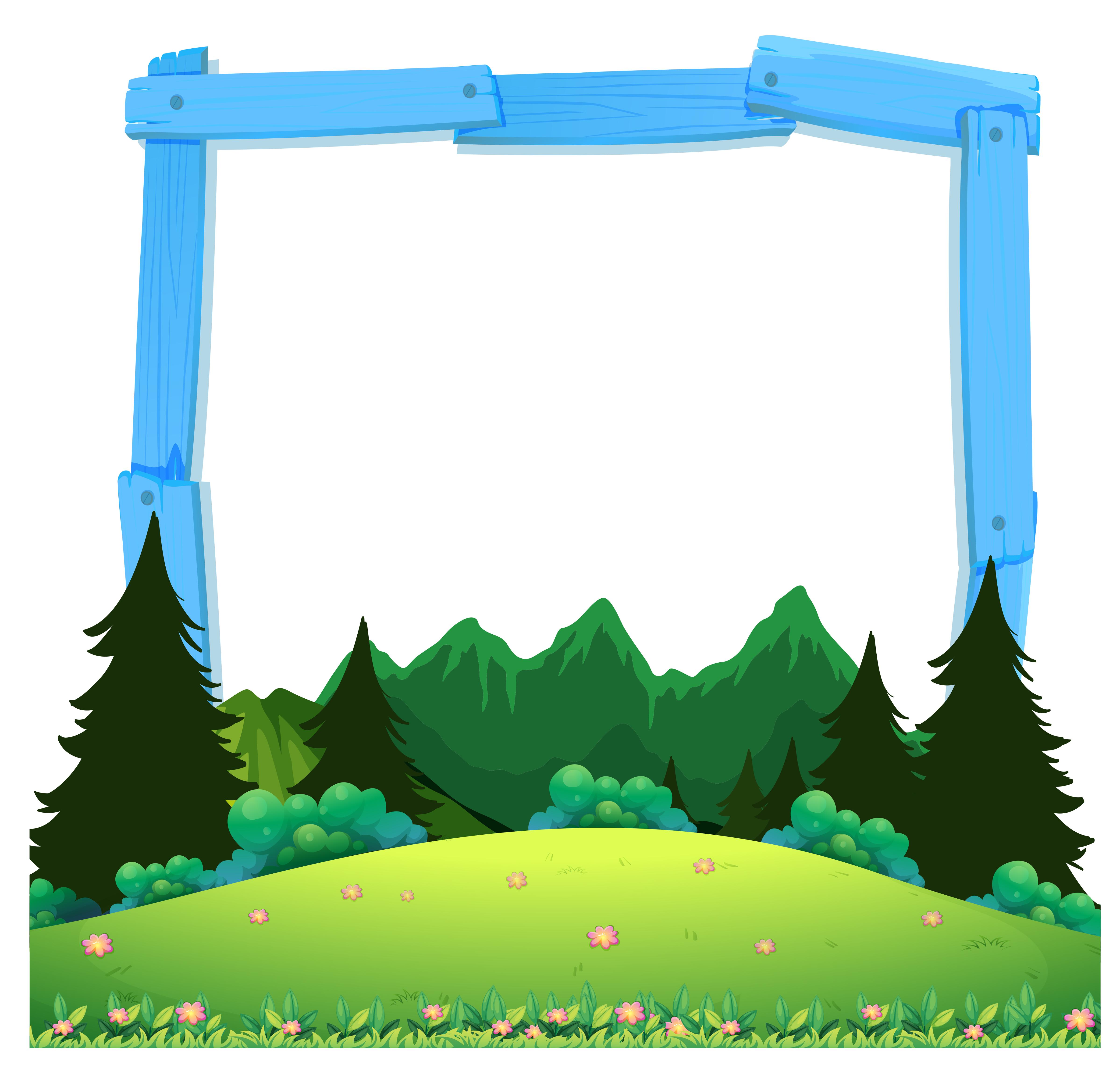 a wooden nature frame download free vectors clipart graphics vector art vecteezy