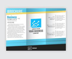 Conception de brochures commerciales vecteur