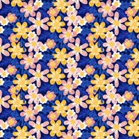 Vector Hand Draw Floral Pattern